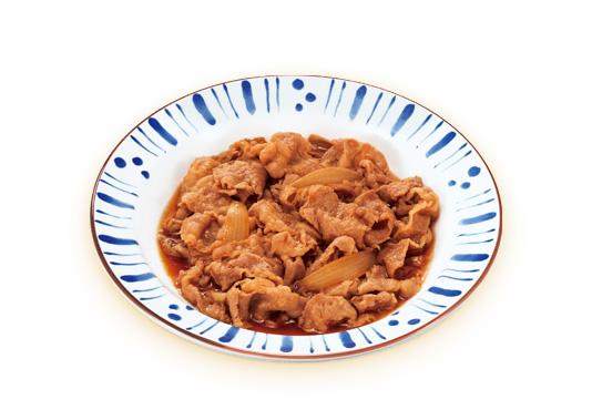 すき家の牛皿のカロリー糖質