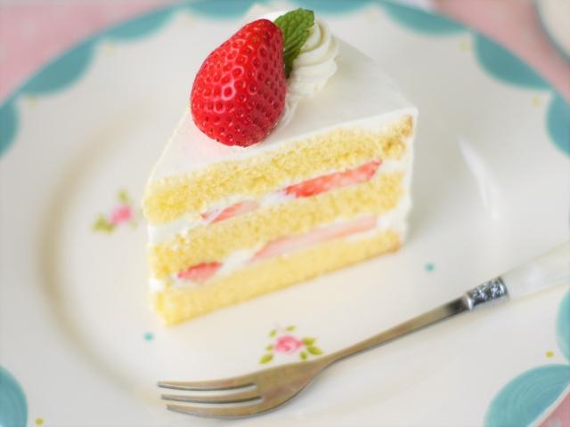 ショートケーキのカロリー糖質