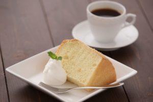 シフォンケーキは太る!?カロリーと糖質を他のケーキと比較!