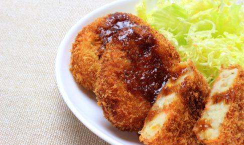 【コロッケのカロリー】コロッケは太る!?メンチカツや唐揚げとカロリー糖質を比較