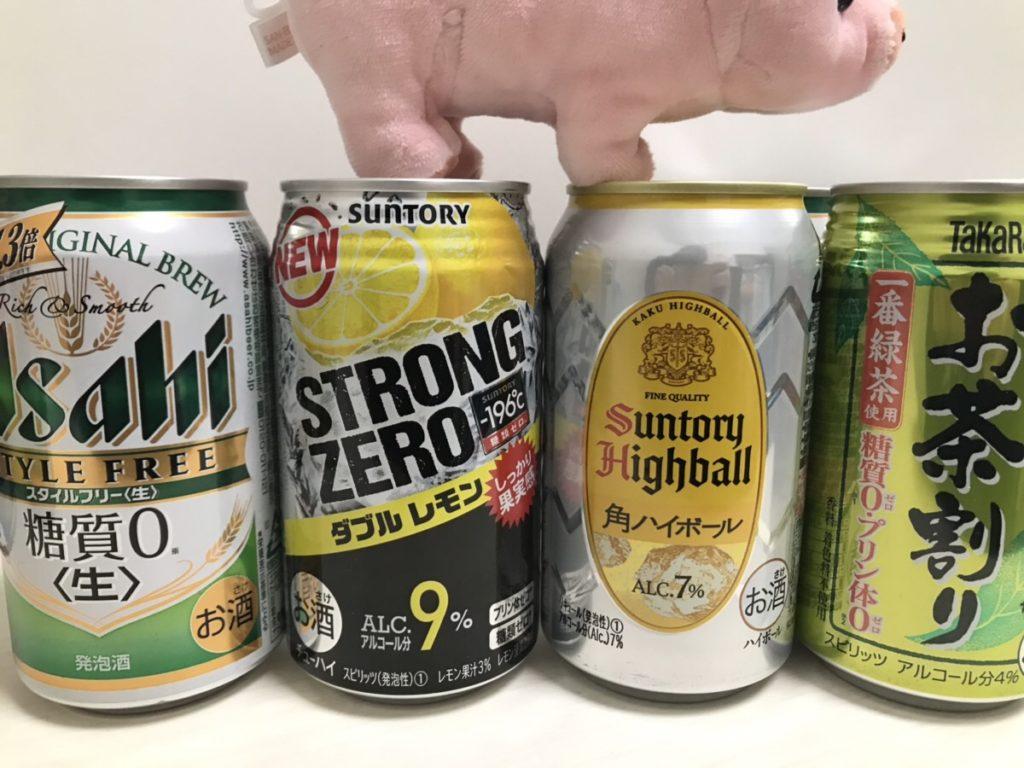【ハイボールのカロリー】ハイボールは太る!?ビールや梅酒とカロリー糖質を比較
