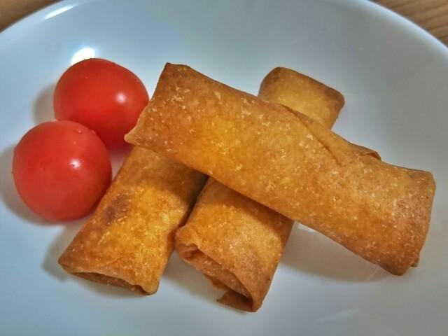 【春巻きのカロリー】春巻きは太る!?餃子シュウマイとカロリー糖質を比較